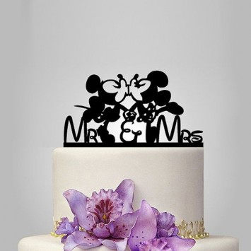 Cake Topper 'Minnie & Mickey Mouse'