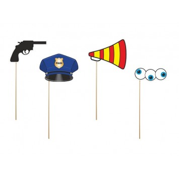 Photo Booth Props - Police Officer